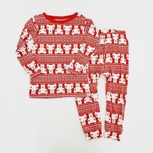 GAP Pajamas - The Gap   Red Fair Isle Christmas PJs